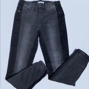 Good American black jeans, good legs 27